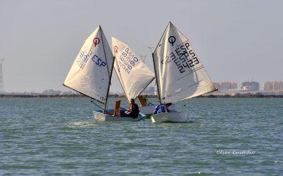 Cuenta atrás para el comienzo este jueves del Campeonato Ibérico de Optimist, IX Trofeo de Verano Almirante Cervera , I Copa Desing3