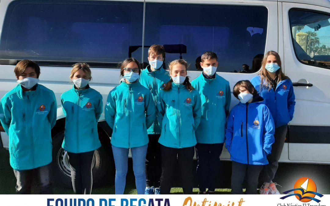 Nuestro equipo Optimist se disputa el Campeonato Provincial en las Instalaciones del Club Náutico Elcano (Cádiz).