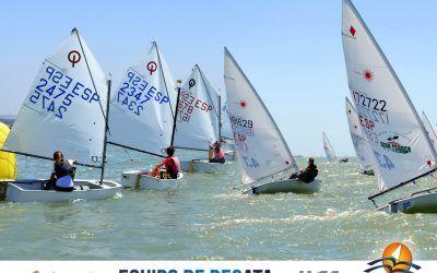 Este fin de semana se celebra el Campeonato de Andalucía de Equipos (Optimist-Laser) en la Federación Andaluza de Vela (Puerto de Santa María)